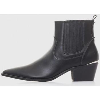 Zapatos Mujer Botines Kamome A2761 Negro