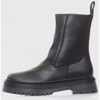 Zapatos Mujer Botines Kamome A2668 Noir