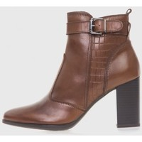 Zapatos Mujer Botines Oxyd 6841 Marrón