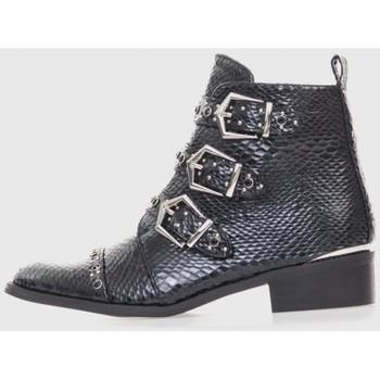 Zapatos Mujer Botines Kamome A2730 Negro