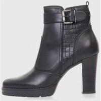Zapatos Mujer Botines Oxyd 4111 Negro