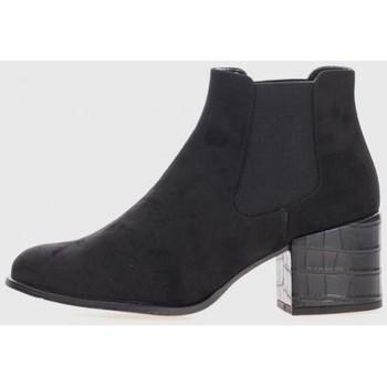 Zapatos Mujer Botines Kamome L-1701C Negro