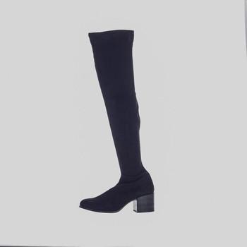 Zapatos Mujer Botas Kamome L-1053-C Negro