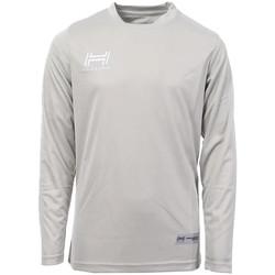 textil Hombre Camisetas manga larga Hungaria  Gris