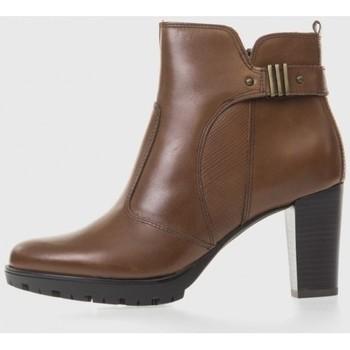 Zapatos Mujer Botas de caña baja Oxyd 5095 Marrón