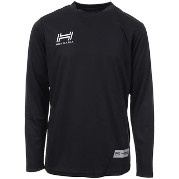 textil Hombre Camisetas manga larga Hungaria  Negro