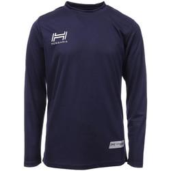 textil Hombre Camisetas manga larga Hungaria  Azul