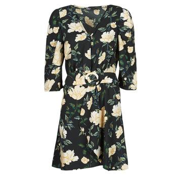 textil Mujer Vestidos cortos Only ONLEVE 3/4 SLEEVE SHORT DRESS WVN Negro