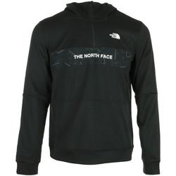 textil Hombre Chaquetas de deporte The North Face Train N Logo 1/4 Zip Negro