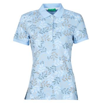 textil Mujer Polos manga corta Benetton CHOLU Azul