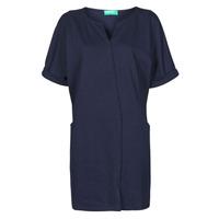 textil Mujer Vestidos cortos Benetton CAMILA Marino
