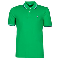 textil Hombre Polos manga corta Benetton 3WG9J3181-108 Verde