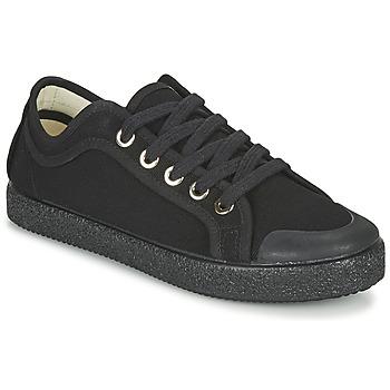 Zapatos Mujer Zapatillas bajas Dream in Green OBRINDILLE Negro