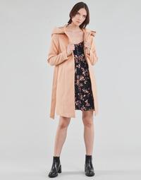 textil Mujer Abrigos Vero Moda VMCALALYON HOOD 3/4 JACKET GA Rosa