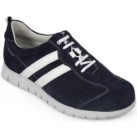 Zapatos Hombre Zapatillas bajas Calzamedi DEPORTIVO DIABÉTICOS M 2159 AZUL