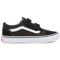 Zapatos Niños Zapatillas altas Vans SK8-Hi Black/True White - Kids