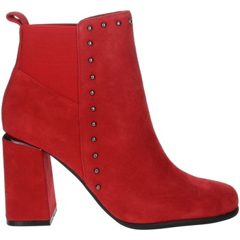 Zapatos Mujer Botines Pregunta PFC9481 Rojo