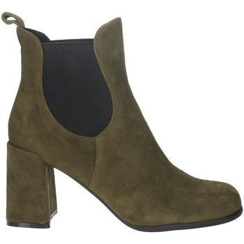 Zapatos Mujer Botines Pregunta PFC9170 Verde obscuro