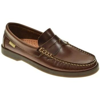 Zapatos Niño Mocasín Velilla ESCOLAR NIÑO  MARRON Marrón