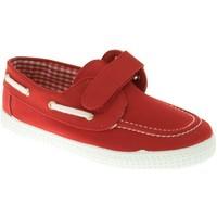Zapatos Niño Zapatos náuticos Batilas LONA NIÑO  ROJO Rojo