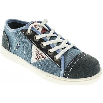 Zapatos Niño Zapatillas bajas Lois LONA NIÑO  JEAN Azul