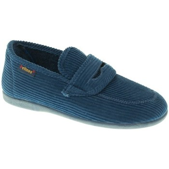 Zapatos Niño Pantuflas Valdivieso ZAPATILLAS NIÑO  AZUL Azul