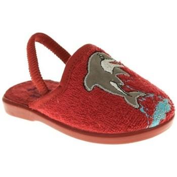 Zapatos Niño Pantuflas Batilas ZAPATILLAS NIÑO  ROJO Rojo
