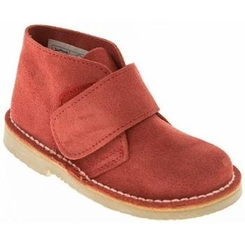 Zapatos Niño Botas de caña baja Taum BOTIN NIÑO  ROJO Rojo