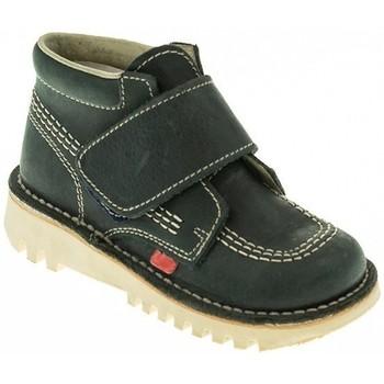Zapatos Niño Botas de caña baja Taum BOTIN NIÑO  MARINO Azul