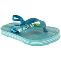 Zapatos Niño Chanclas Bahianas PLAYA/PISC. NIÑO  CELESTE Azul
