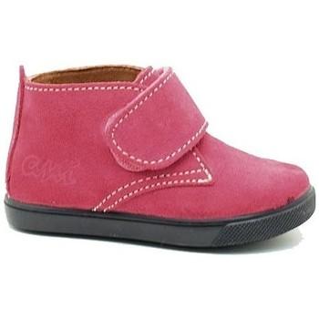 Zapatos Niña Botas de caña baja Ani BOTIN NIÑA  FUCSIA Rosa
