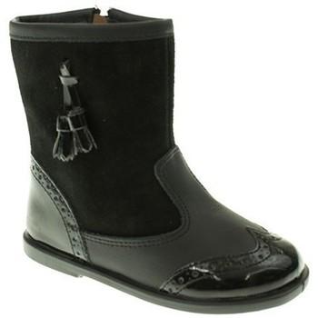 Zapatos Niña Botas de caña baja Xiquets BOTIN NIÑA  NEGRO Negro