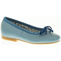 Zapatos Niña Bailarinas-manoletinas Guxs MANOLETINA NIÑA  AZUL Azul