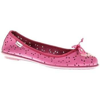 Zapatos Niña Bailarinas-manoletinas Titanitos MANOLETINA NIÑA  FUCSIA Rosa