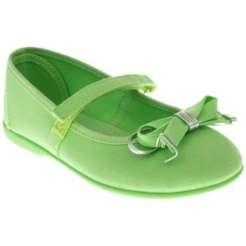 Zapatos Niña Bailarinas-manoletinas Batilas MANOLETINA NIÑA  VERDE Verde