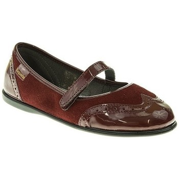 Zapatos Niña Bailarinas-manoletinas Xiquets MANOLETINA NIÑA  BURDEOS Violeta