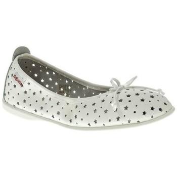 Zapatos Niña Bailarinas-manoletinas Xiquets MANOLETINA NIÑA  BLANCO Blanco