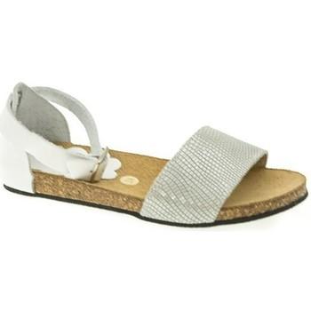 Zapatos Niña Sandalias Duendy SANDALIA NIÑA  BLANCO Blanco