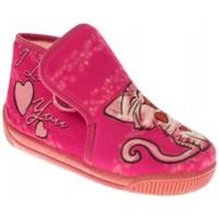 Zapatos Niña Pantuflas Batilas ZAPATILLAS NIÑA  ROSA Rosa