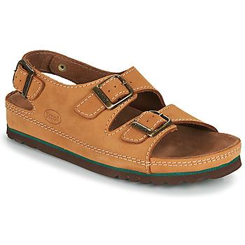 Zapatos Hombre Sandalias Scholl AIRBAG BACK STRAP Marrón
