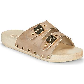 Zapatos Mujer Zuecos (Mules) Scholl PESCURA 2 STRAPS Marrón