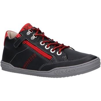 Zapatos Niño Zapatillas altas Kickers 830100 JOULA Negro