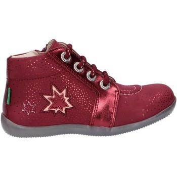 Zapatos Niña Botines Kickers 829630 BE POWER Rojo