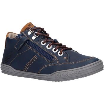 Zapatos Niño Zapatillas bajas Kickers 830100 JOULA Azul