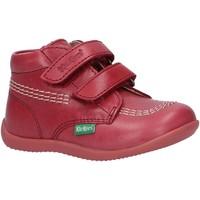 Zapatos Niña Botas de caña baja Kickers 653119-10 BILLY Rosa