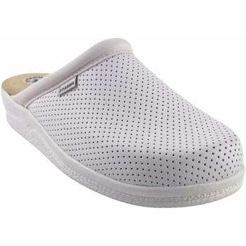 Zapatos Hombre Multideporte Bienve Zapato caballero  31 Zueco anatomico blanco Blanco