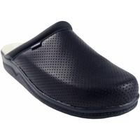 Zapatos Hombre Zuecos (Mules) Bienve Zapato caballero  31 Zueco anatomico azul Azul