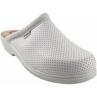 Zapatos Mujer Multideporte Bienve Zapato señora  22 Zueco anatomico blanco Blanco