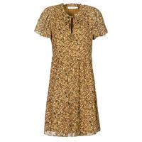 textil Mujer Vestidos cortos Naf Naf MARIA R1 Camel