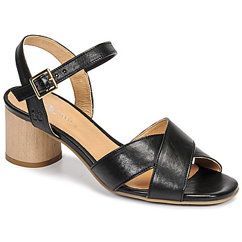 Zapatos Mujer Sandalias Dream in Green ODAINE Negro